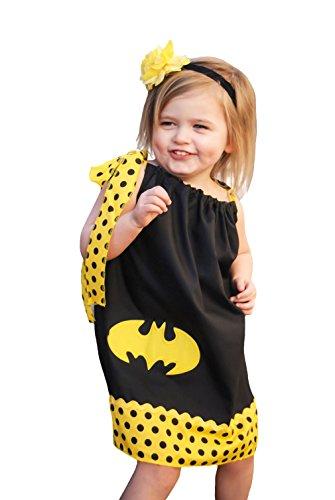 Wholesale Princess Dresses (Wholesale Princess Boutique Batman Pillowcase Dress-1-3 yrs)