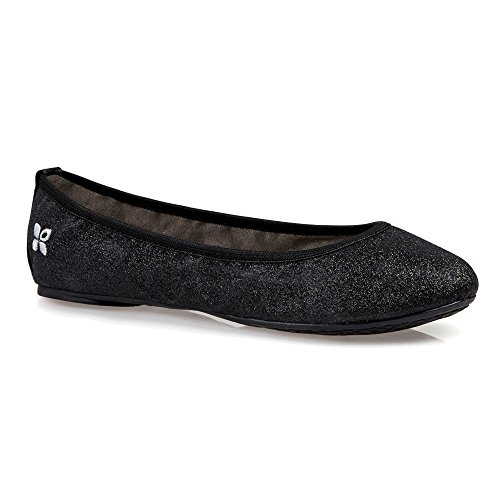 Butterfly Twists Flats Women's Black Samantha Ballet wxCwPZqA