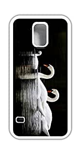 NBcase Swan Family Hard PC case for samsung galaxy s5 for girls