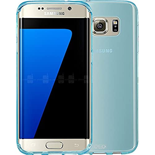S7 Edge Case, ACMEBOX [Slim Thin] Anti-Shock TPU Gel Rubber Thin Flexible Soft Bumper Silicone Protective Case Cover for Samsung Galaxy S7 Edge -(Mint) Sales