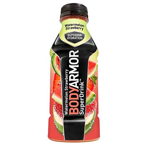 BodyArmor SuperDrink Watermelon Strawberry 16 oz (12 Bottles) …