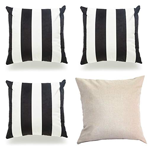 (ODOSAN 3 Pack Halloween Themed Cafe Sofa Party Decor Throw Pillow Case 18