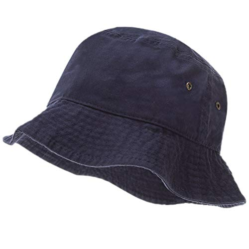 Bandana.com Navy Bucket Hat - Single Piece, Navy Blue, Large/Extra Large (23