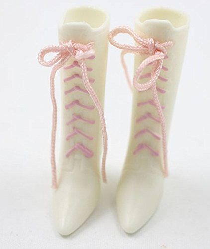 Studio one Lovely White Boot Shoes Accessories for Blythe Doll Best -