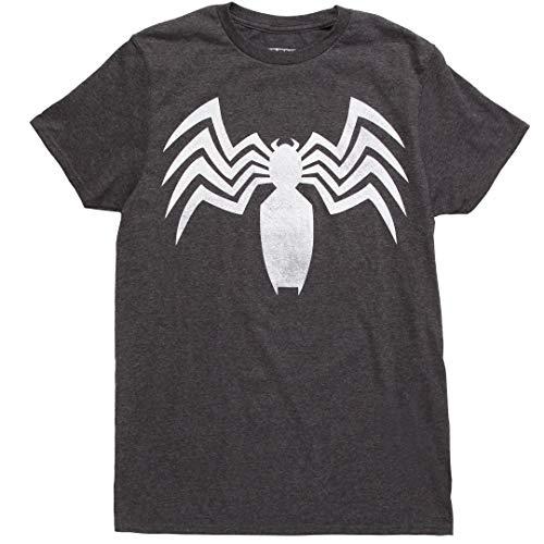 Venom Logo Costume T-Shirt - Charcoal -