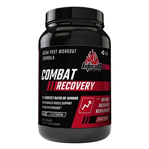 Inferno Nutrition Combat Recovery Aminos Post Workout BCAA Powder with Glutamine Watermelon
