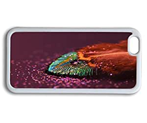 Andre-case ZENDOOP@ iPhone 6plus 5.5 case cover with Design of Colorful Rainbow drops feather Wallpaper Pattern - EypQa8SfGa8 Rainbow Color Serie