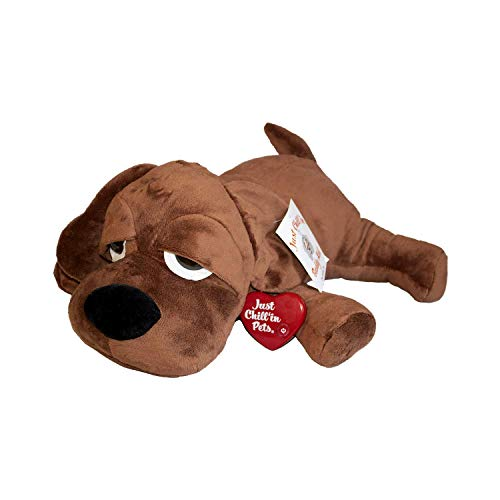 - Just Chill'In Pets Heartbeat Puppy Toy for Separation Anxiety Relief - Dog Puppy Plush Toy with Heartbeat