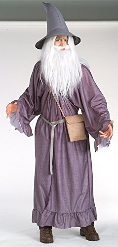 Deluxe Gandalf the Grey Costume - Standard - Chest Size 46 (Deluxe Grey Gandalf Adult Costume)