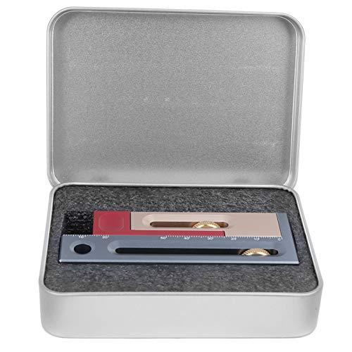 톱 슬롯 조절기 부식 방지 2 최대 개방 크기 내마모성 장붓 구멍 장부 측정 나무 상자