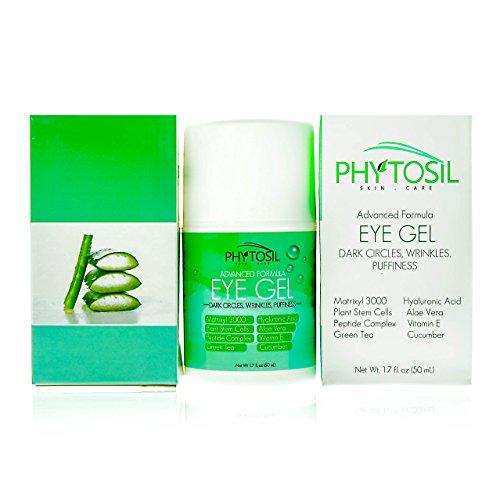 Best Eye Gel 100% Organic - For Wrinkles, Crows Feet, Puf...
