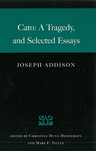 Cato: A Tragedy and Selected Essays from Brand: Liberty Fund Inc.