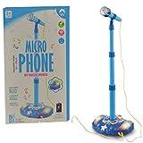 Toyexx Kids Karaoke Machine Children Microphone Music Toy Play Set & Adjustable Stand