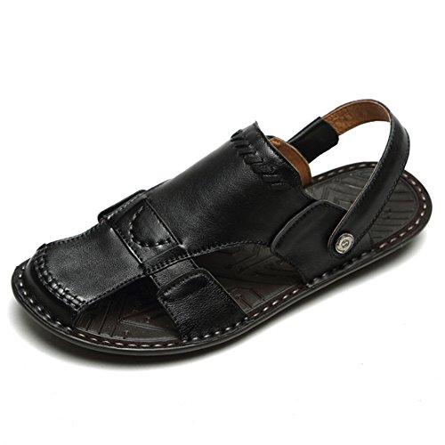 Antiscivolo da Colore Sandali Leggeri Outdoor Dimensione Summer 1 Scarpe E pantofole 3 39 Sandali Pantofole Sandali Nero Uomo Marrone EU spiaggia Wagsiyi Yx6w7vnX