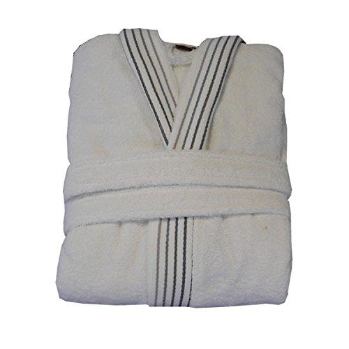PNG 17763 Elegant - Albornoz de baño (talla S) color blanco