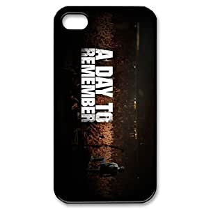 Customize Famous Rock Band A Day To Remember Back Case for iphone4 4S JN4S-1732
