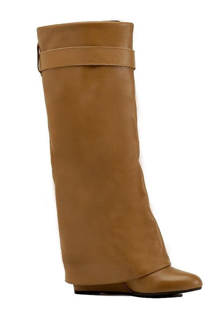 J.BORN Zapatos de Cordones de Cuero para Mujer 34