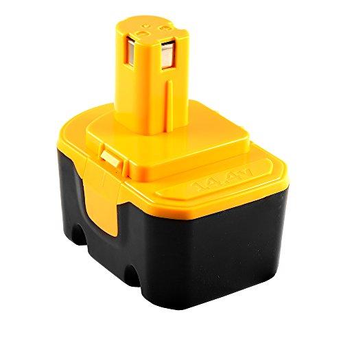 14.4V 1.5AH Replacement Battery for Ryobi BPP-1415 BPP-14...