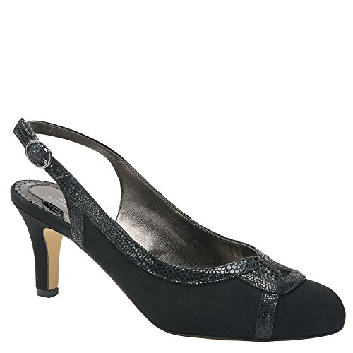 Ros Hommerson Women's Java Slingback,Black Microtouch,US 10 WW