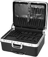 Meditool Caja de herramientas con ruedas,51 x 40 x 28cm,Bloqueo de contraseña,compartimiento ajustable,Maleta para herramientas con una correa de transporte ajustable: Amazon.es: Bricolaje y herramientas