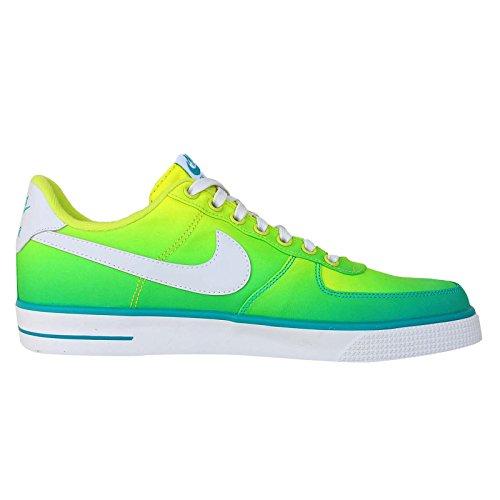 Nike Hommes Qt Lebron Pâques Noir / Floral 717897-010 Turbo Vert / Blanc