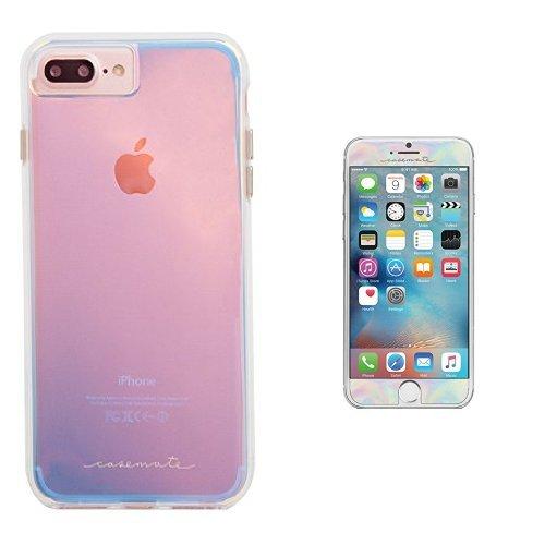 cheaper 622cc fd93c Amazon.com: Case-Mate iPhone 7 Plus Case and Gilded Glass Screen ...