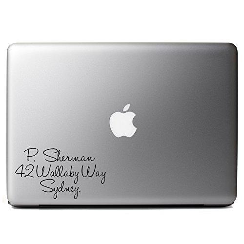 Funny Nemo Dory P Sherman Wallaby Sydney Vinyl Sticker Laptop iPhone Cell -