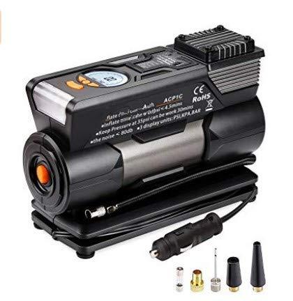 TACKLIFE Tire Inflator ACP1C, DC 12V Portable Air Compressor Pump, Digital Tire Pump...