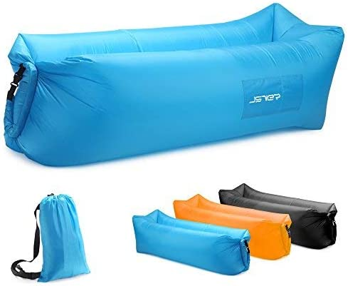 Inflatable Lounger (Air Couch) [JSVER] for Beach, Travelling, Camping Picture