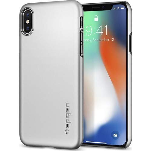 spigen thin fit designed for apple iphone xs case 2018. Black Bedroom Furniture Sets. Home Design Ideas