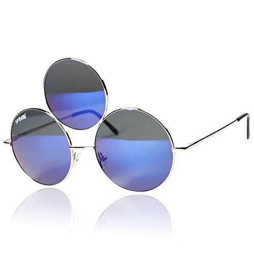 [Third Eye Sunglasses by Shivas Includes Free Case. Prince Tribute And EDC Style] (Edc Costumes Men)