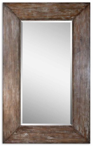 amazoncom extra large wall mirror oversize rustic wood xl luxe full length floor leaner home kitchen