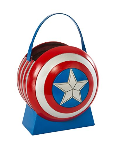 [Avengers 2 Age of Ultron Captain America Collapsible Shield Pail] (Ultron Halloween Costumes)