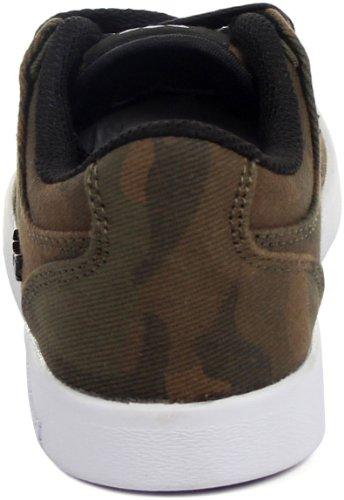 Supra - - Unisex-Kind-Vaider Lc Lowtop Schuhe Camo/Black/White