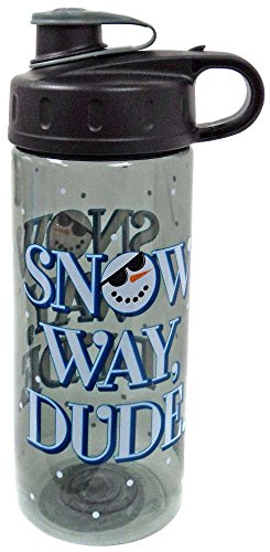 Snow Way Dude Snowman Water Bottle 16 oz BPA Free By Cool (Snowman Bottle)
