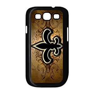 Customizeize NFL New Orleans Saints Back Case for SamSung Galaxy S3 I9300 JNS3-1062
