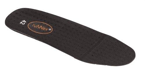 """RUNNEX Plantillas """"5400para zapatos de seguridad para plantilla, Negro, 5400"""