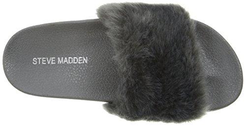 Steve Madden Kids Jsoftey Slide Grey