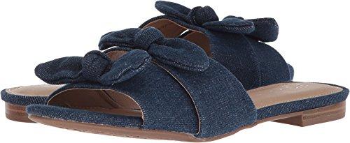Dark Denim Footwear (Esprit Women's Kenya Dark Navy Denim 10 M US)