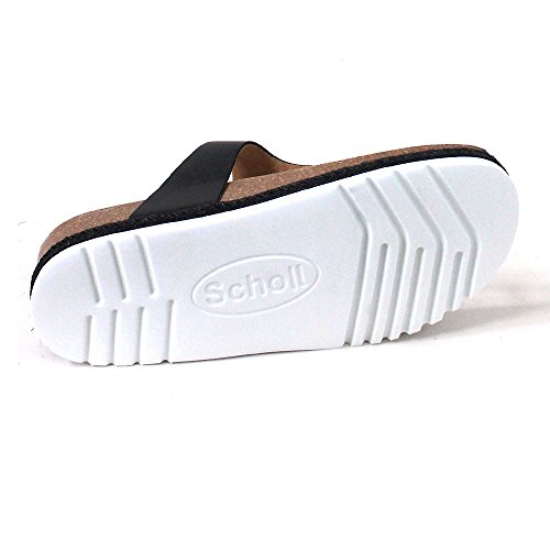 Scholl Scholl Leather Black Idylla White Idylla 8dHZwq5x8