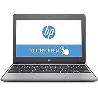 HP 11-v011 11.6 Touchscreen Chromebook, Intel Celeron N3060 Dual-Core, 4GB DDR3, 16GB SSD, 802.11ac, Bluetooth, Chrome OS (Certified Refurbished)