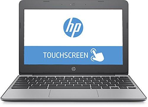 "HP 11-v011 11.6"" Touchscreen Chromebook, Intel Celeron N3060 Dual-Core, 4GB DDR3, 16GB SSD, 802.11ac, Bluetooth, Chrome OS (Certified Refurbished)"