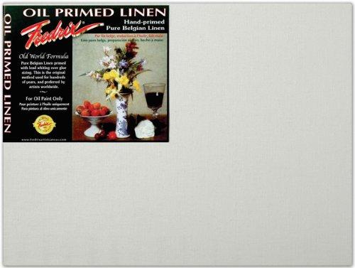Fredrix T3392 9 in. x 12 in. Archival Oil Primed Linen Board Pack Of 12