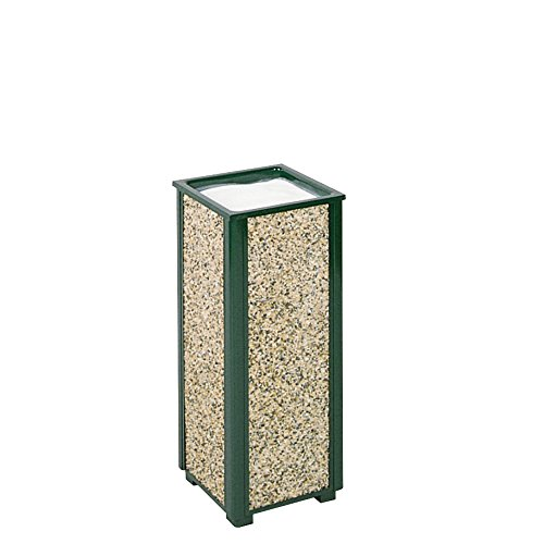 Rubbermaid Commercial Products FGR40202 Aspen Series Outdoor Urn (Green) ()