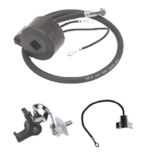 Coil Pack Module - New IGNITION COIL / MODULE w/ Ignition Set POINTS & CONDENSER For Tecumseh