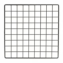 Mini Black Grid Panel 14