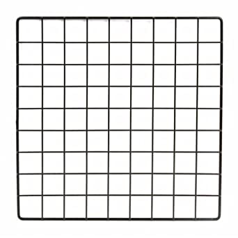 amazon com mini black grid panel 14 w x 14 h 1 5 squares grid