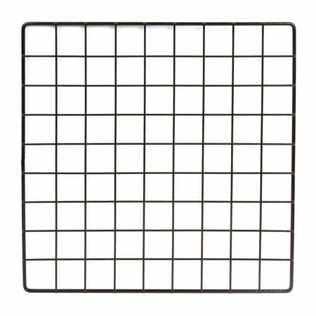 black-grid-panel-14-x-14