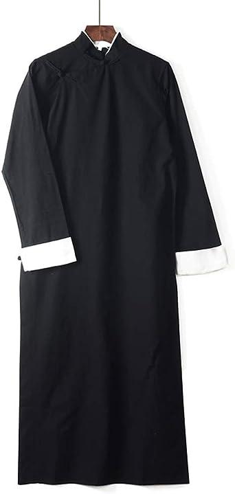 Mens Traditional Chinese Tang Suit T-shirt Set Kungfu Taichi Uniform Linen Suit