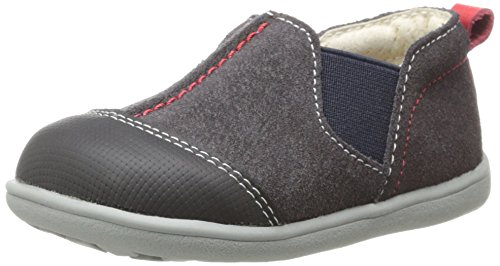 Toddler Boy's See Kai Run 'Miles' Slip-On Grey 6 M